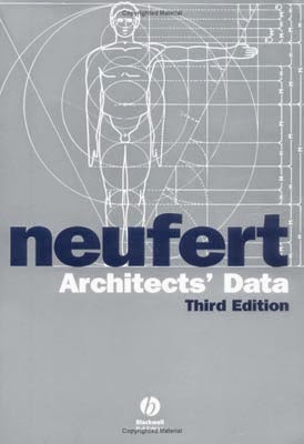 Cuốn sách - Dữ liệu kiến trúc sư (Neuferts - architect - data)
