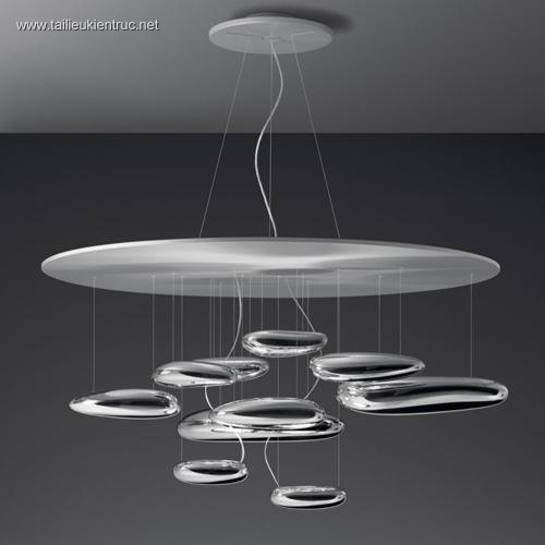 3d model đèn artemide 004