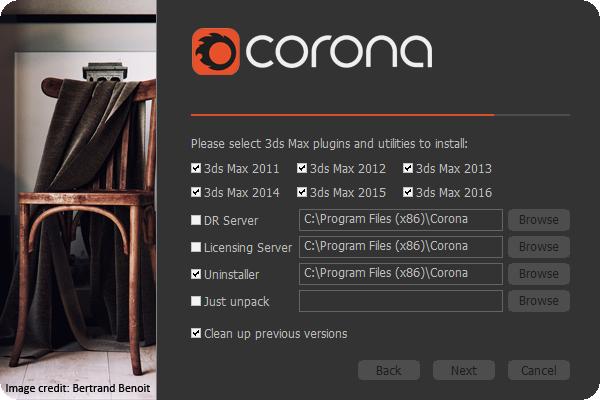 Plugins 3DsMax Corona 1.1.1