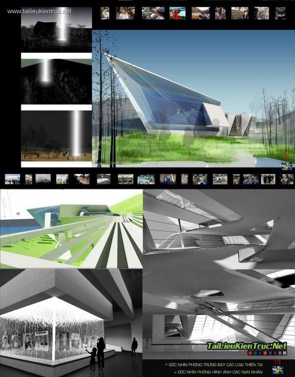 Đồ án kiến trúc - Khu tưởng niệm nạn nhân bị sóng thần