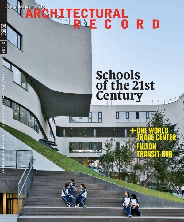 Tạp chí Architectural Record 2015