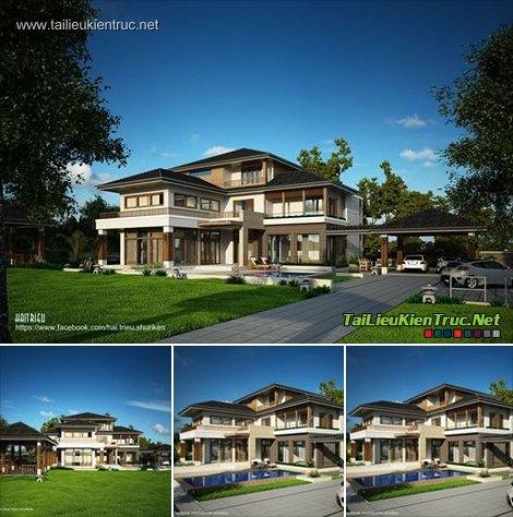 Sence Villa 00008 - Full SU