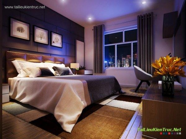 Sence Phòng Ngủ 00003 - Thiết kế phòng ngủ