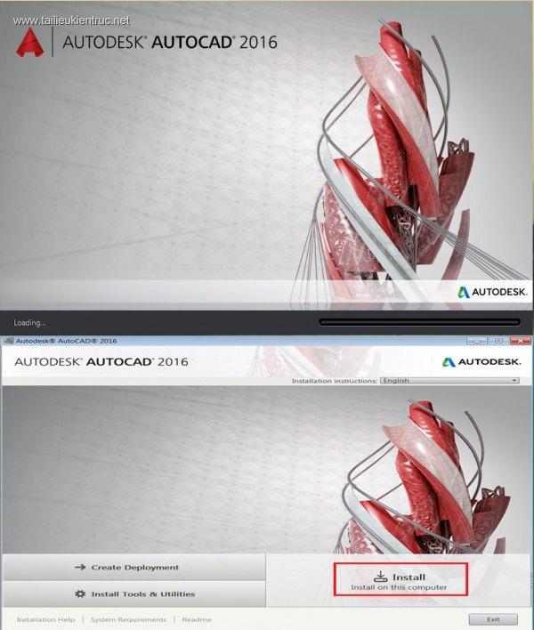 Download Phần mềm Autocad 2016