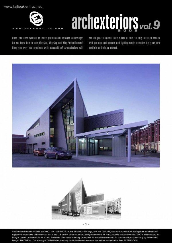 Thư viện 3dsMax EV Archexteriors Vol.9