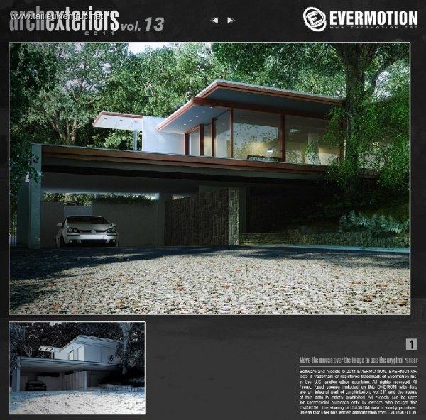 Thư viện 3dsMax EV Archexteriors Vol.13