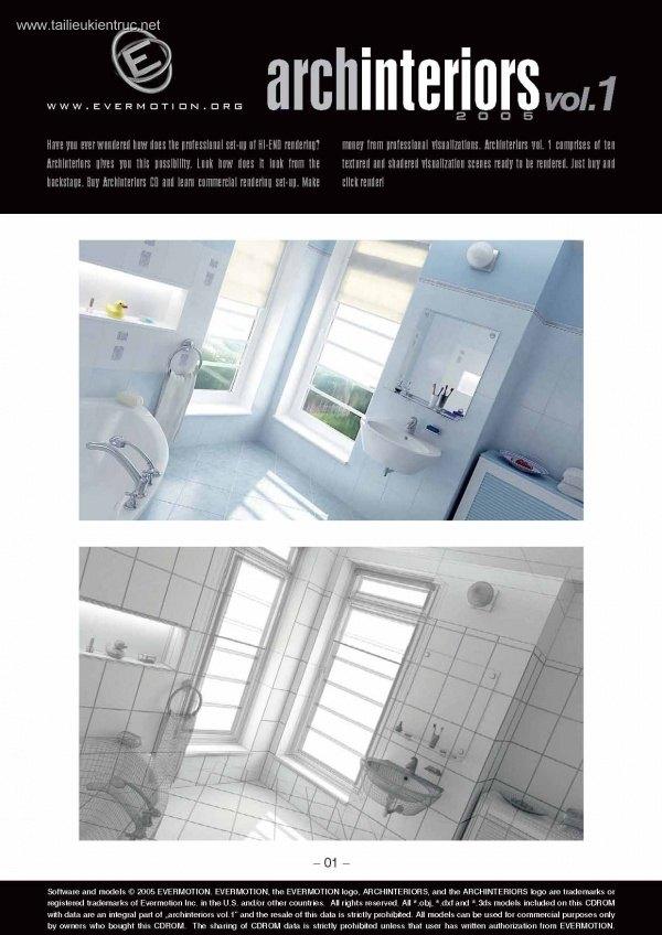 Thư viện 3dsMax EV Interiors Vol.1
