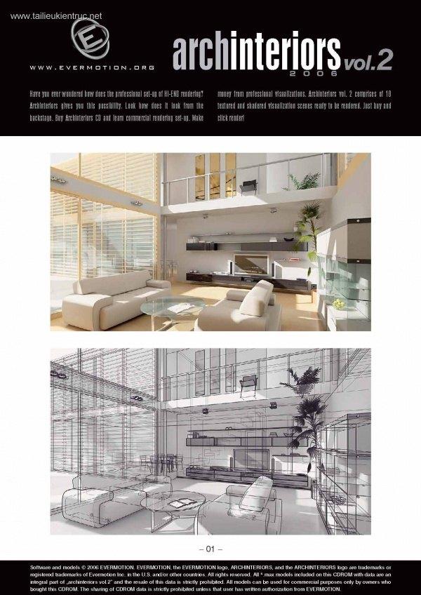 Thư viện 3dsMax EV Interiors Vol.2