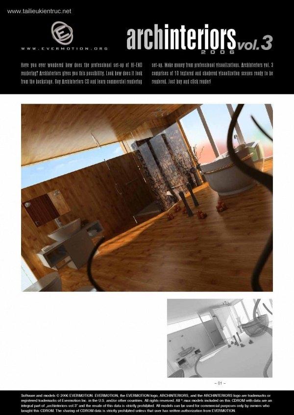 Thư viện 3dsMax EV Interiors Vol.3