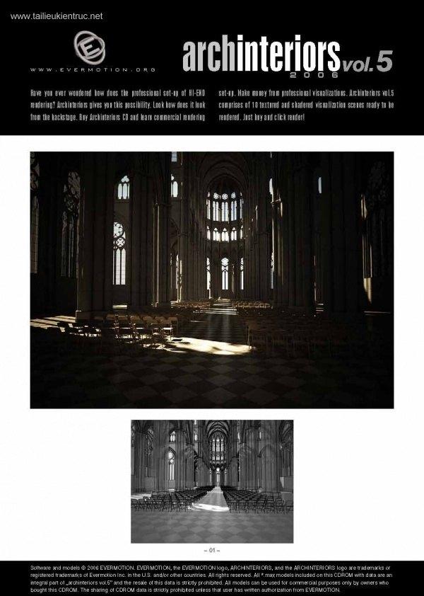 Thư viện 3dsMax EV Interiors Vol.5