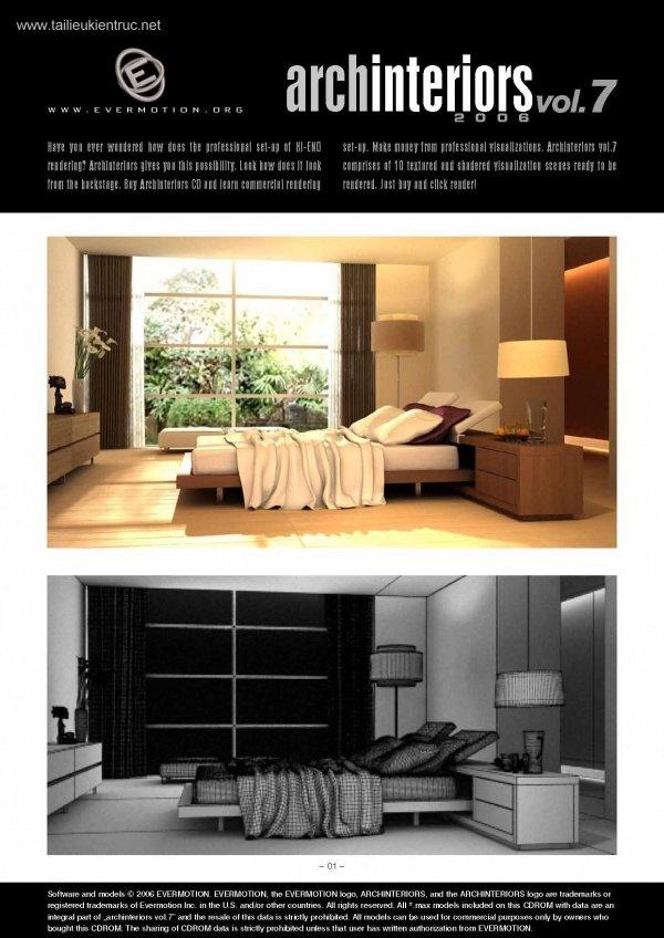Thư viện 3dsMax EV Interiors Vol.7