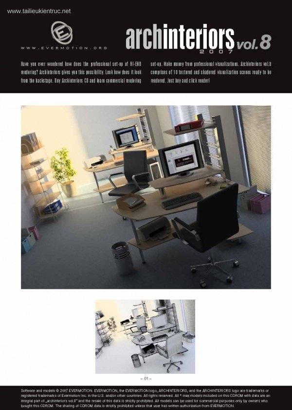 Thư viện 3dsMax EV Interiors Vol.8