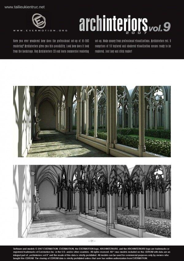 Thư viện 3dsMax EV Interiors Vol.9