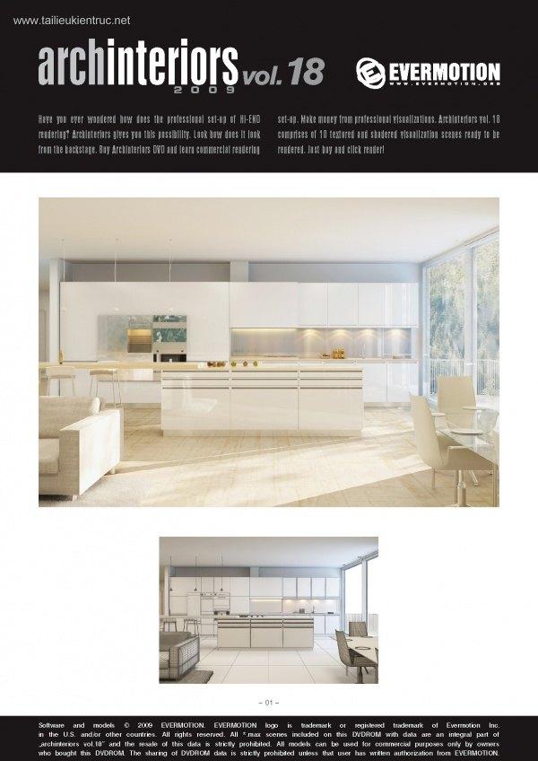 Thư viện 3dsMax EV Interiors Vol.18