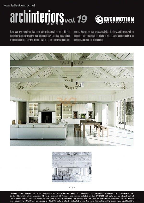 Thư viện 3dsMax EV Interiors Vol.19