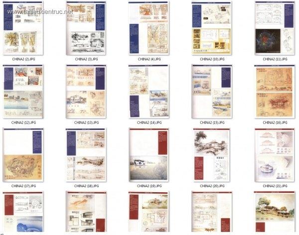 Đồ án kiến trúc - Tổng hợp các đồ án Biệt thự Trung Quốc