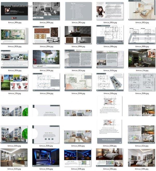 Đồ án kiến trúc - Đồ án thiết kế Biệt thự 002