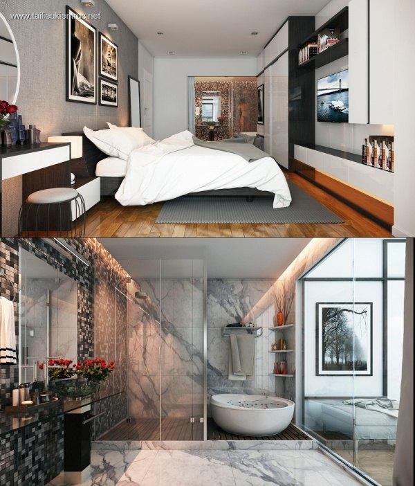 Sence Phòng Ngủ 00007 - Thiết kế phòng ngủ Master
