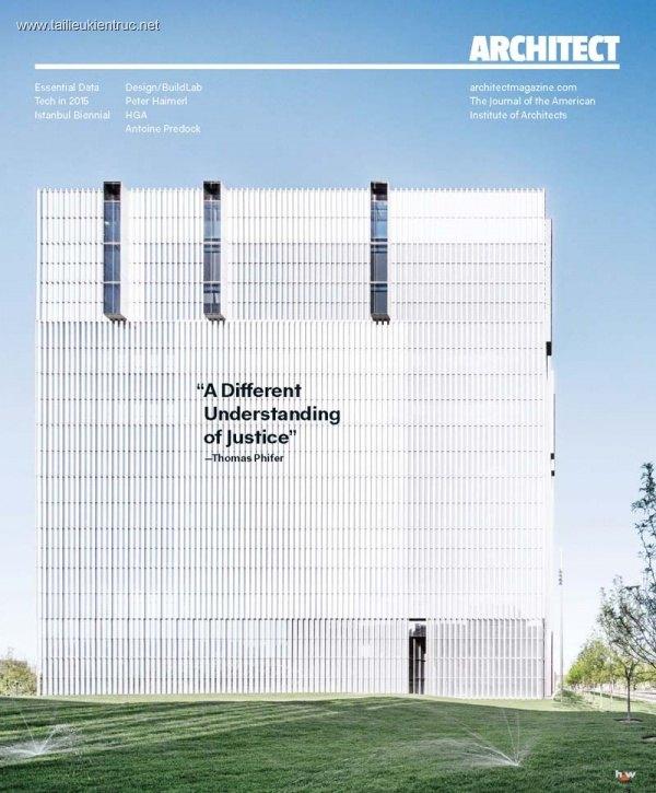 Tạp chí kiến trúc Architect 2015 tháng 1