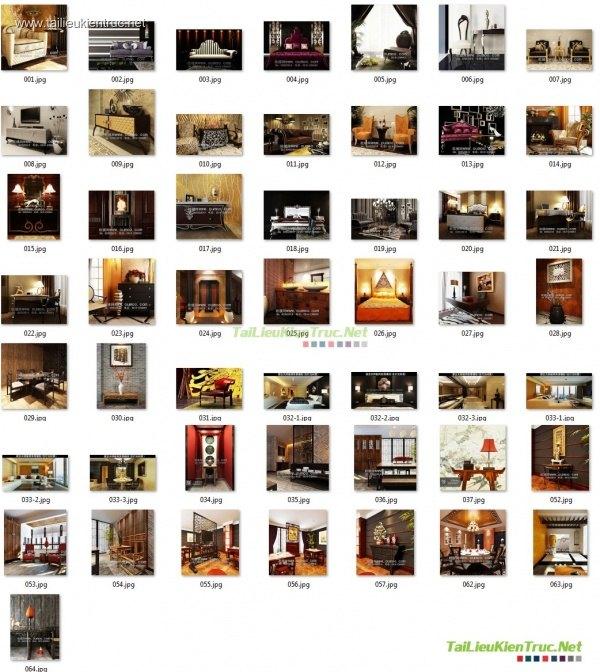 Tổng hợp 82 Model 3d bàn ghế, kệ, giường Tân cổ điển