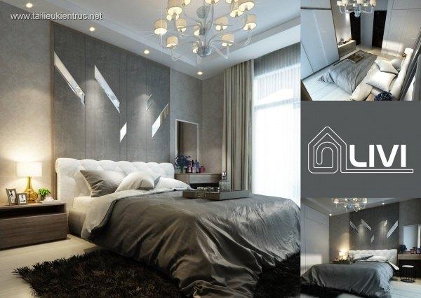 Sence Phòng Ngủ 00008 - Thiết kế phòng ngủ Master