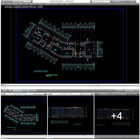 Hồ sơ thiết kế chung cư thấp tầng 001 tại Hà Nội