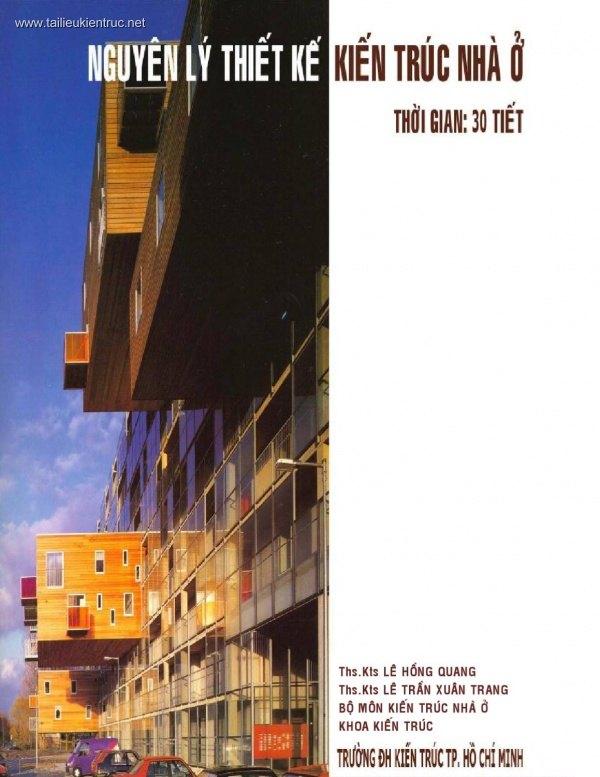 Sách Nguyên lý thiết kế kiến trúc Nhà ở