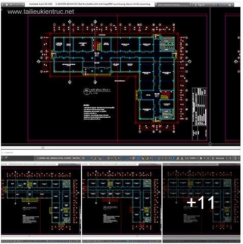 Hồ sơ thiết kế Nhà Làm Việc Đa Chức Năng 01