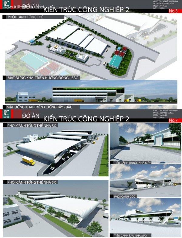 Đồ án công nghiệp 2 - Nhà máy sản xuất gạch ốp lát 001