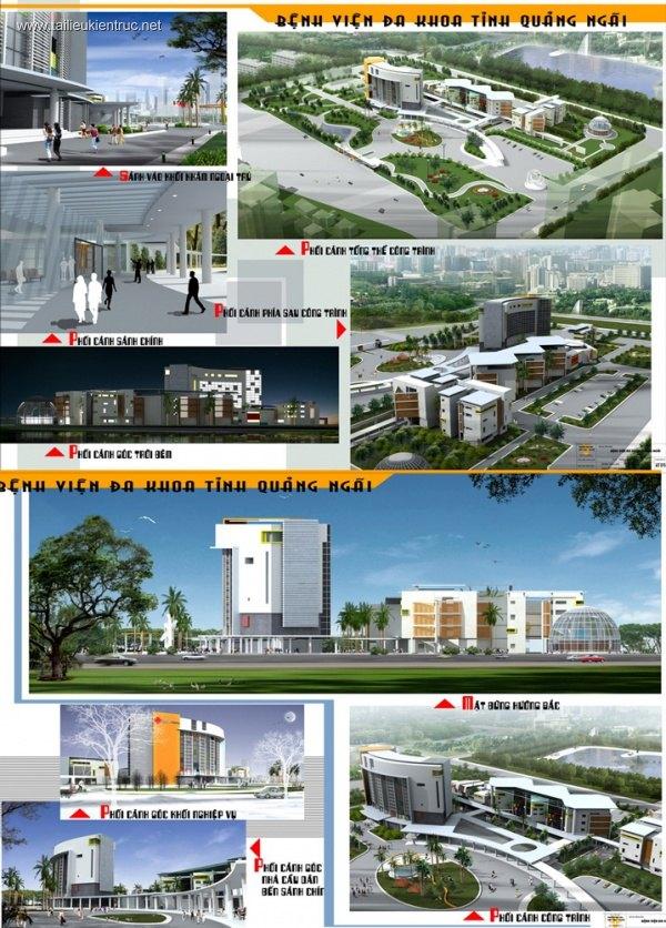 Đồ án tốt nghiệp kiến trúc - Bệnh viện Đa khoa Tỉnh Quảng Ngãi