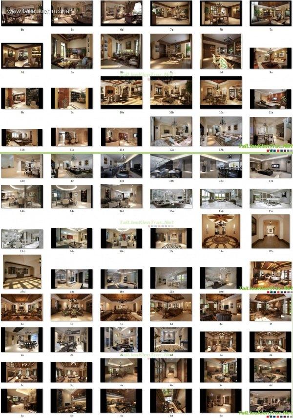 Thư viện 3dsmax Phối cảnh nội thất các công trình TH-V3-4