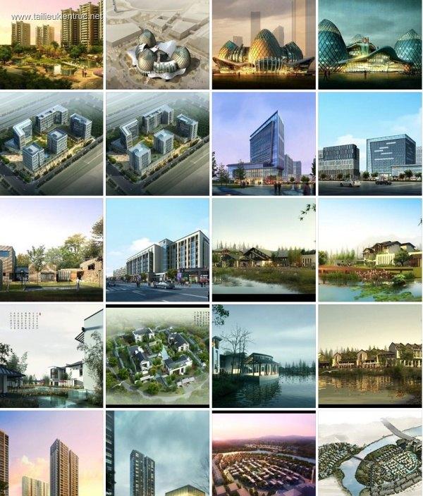 Thư viện Photoshop ghép phối cảnh công trình kiến trúc CG03