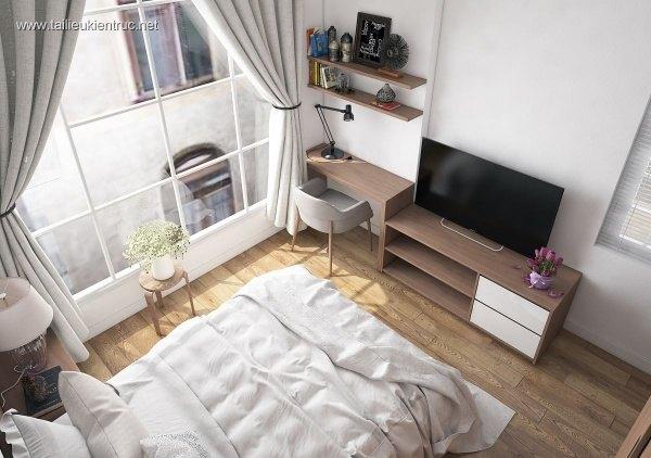 Sence Phòng Ngủ 00010 - Thiết kế phòng ngủ Master