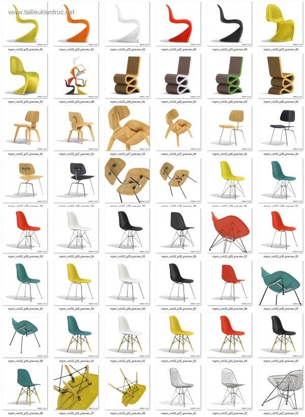 Tổng hợp 23 Model ghế các loại 00010