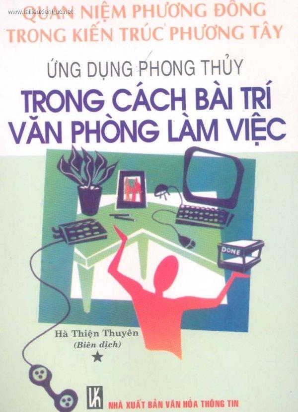 Sách Phong thủy Ứng dụng phong thủy trong cách bài trí văn phòng làm việc