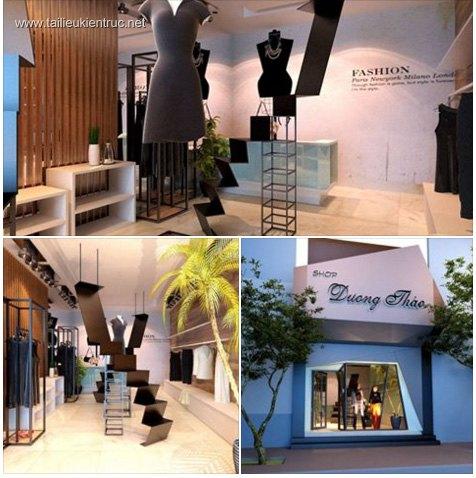 Sence Shop 001 - Thiết kế Shop thời trang
