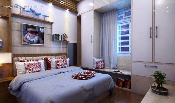 Sence Phòng Ngủ 00013 - Thiết kế phòng ngủ Sketchup