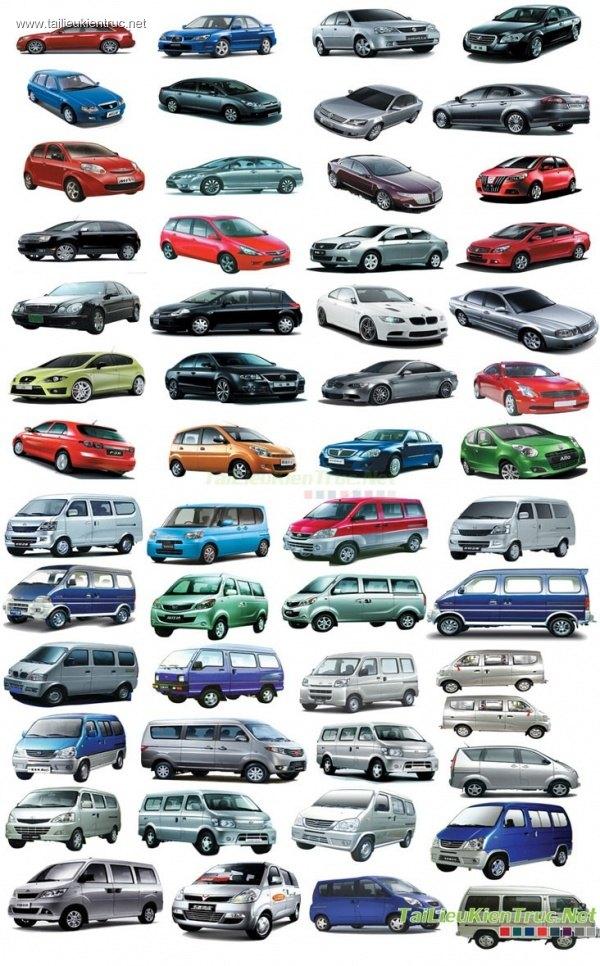 Thư viện Photoshop tổng hợp về Các loại ô tô P1