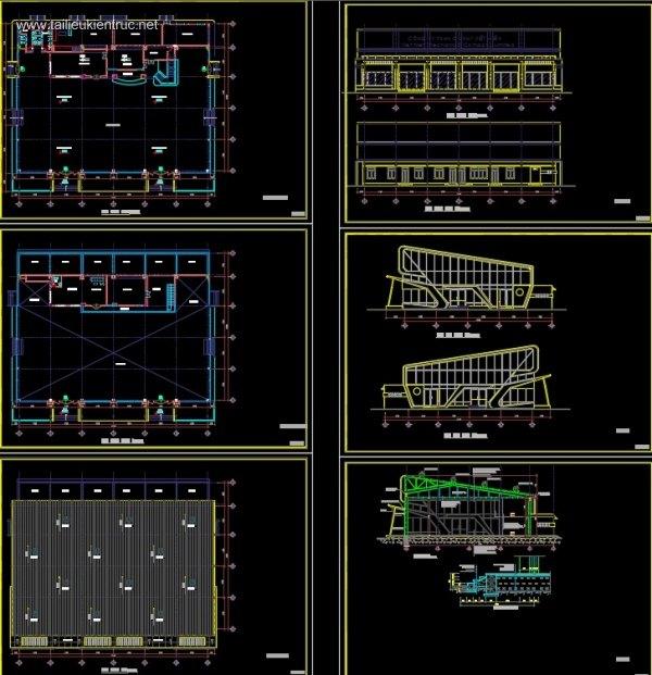 Hồ sơ thiết kế thi công Showroom M01