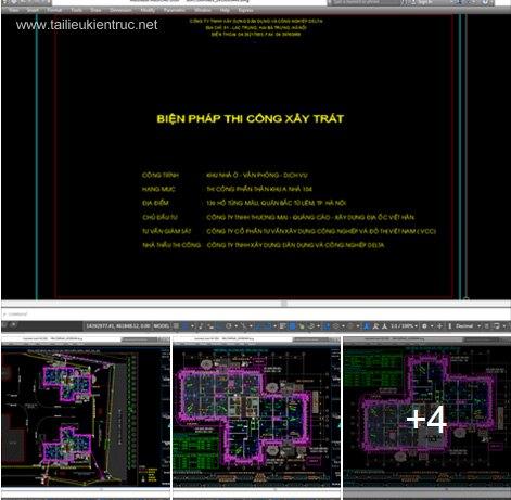 Biện pháp thi công hoàn thiện - công trình 40 tầng