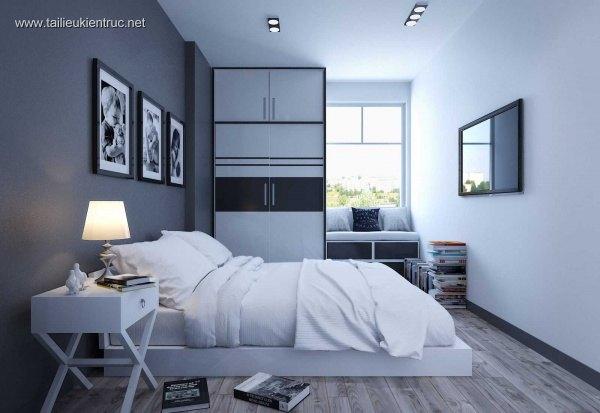 Sence Phòng Ngủ 00016 - Thiết kế phòng ngủ 3dsmax đẹp