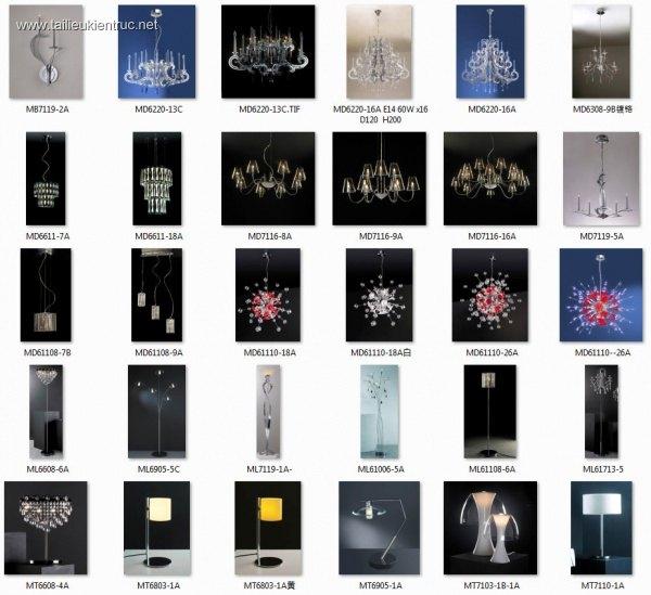 Tổng hợp 58 Model 3D đèn tân cổ điển 013