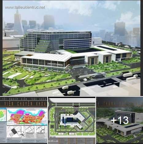Đồ án tốt nghiệp kiến trúc - Bệnh viện Tim mạch thành phố Vũng Tàu