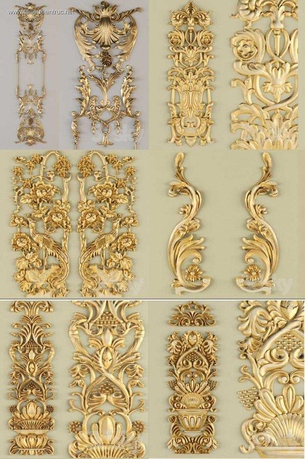 Tổng hợp 8 Model 3D các đối tượng Trang trí P6