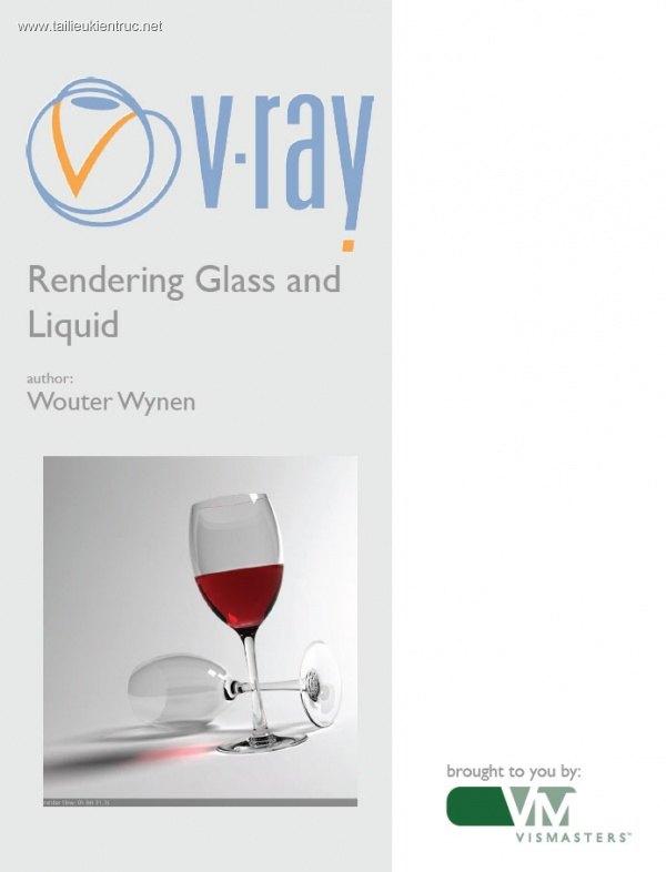 VRay Glass and liquid - VRay Thủy tinh và chất lỏng