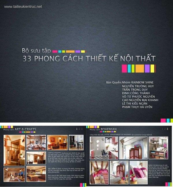Bộ sưu tập 33 Phong cách thiết kế nội thất