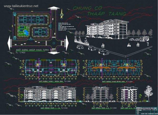 Đồ án Kiến trúc - Thiết kế chung cư Thấp tầng