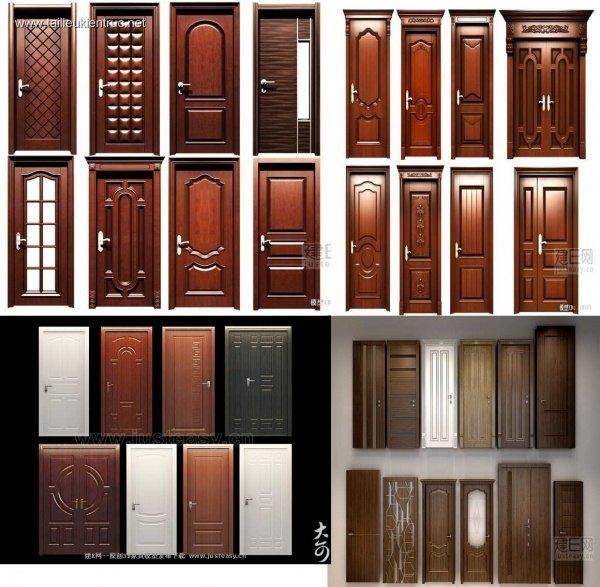 Tổng hợp 35 Model 3dsmax về Cửa gỗ phong cách tân cổ điển P4