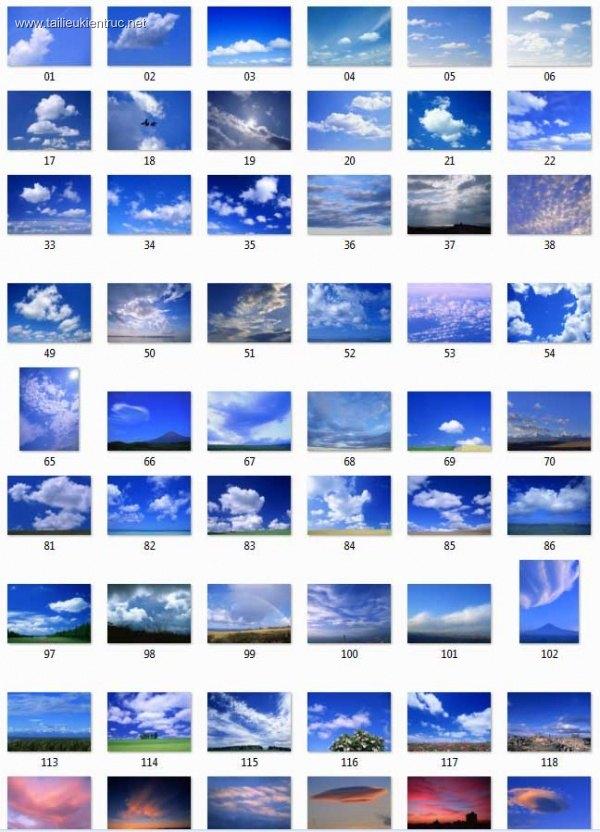 Tổng hợp 165 File Ảnh bầu trời dùng để ghép phối cảnh P3