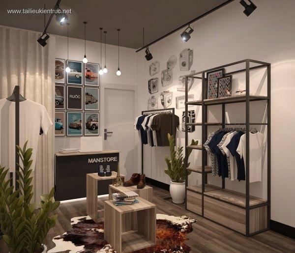 Sence Shop 004 - Thiết kế Shop Quần Áo
